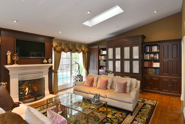 project in New Rochelle, NY traditional-living-room