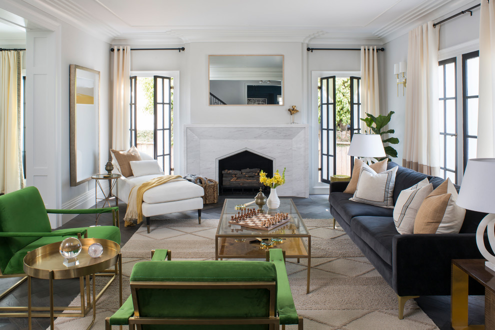 Property Brothers At Home Drew S Honeymoon House Transitional Living Room Los Angeles By Breeze Giannasio Interiors