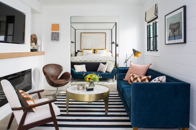 Property Brothers At Home Drew S Honeymoon House Fusion Living Room