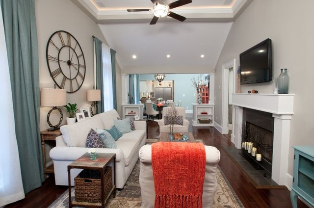 Property brothers living room atlanta by savoy house for Savoy house com