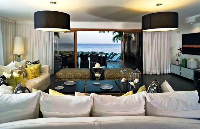 puerto bahia samana contemporary-living-room