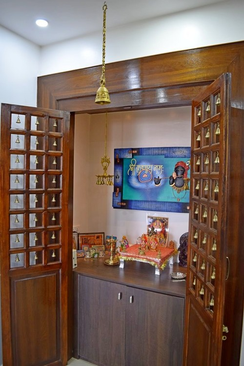 Small Pooja Room Design: Simple Tricks To Build A Beautiful Pooja Room For Indian