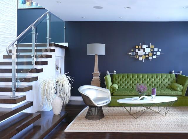 Puri-Punian Residence, San Francisco, CA contemporary-living-room