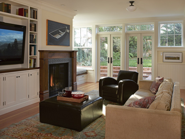 queen-anne-chair-Dining-Room-Traditional-with-area-rug ...