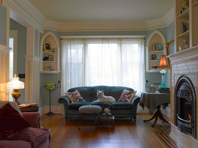 Breathtaking-Queen-Anne-Wing-Chair-Decorating-Ideas-Images-in ...