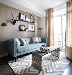 Cómo combinar colores al decorar pisos pequeños