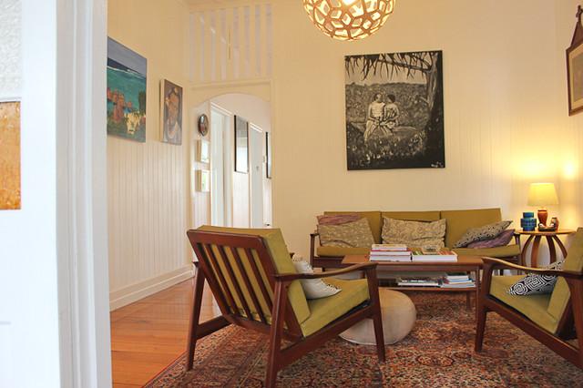 Queenslander Living Room - The Sow