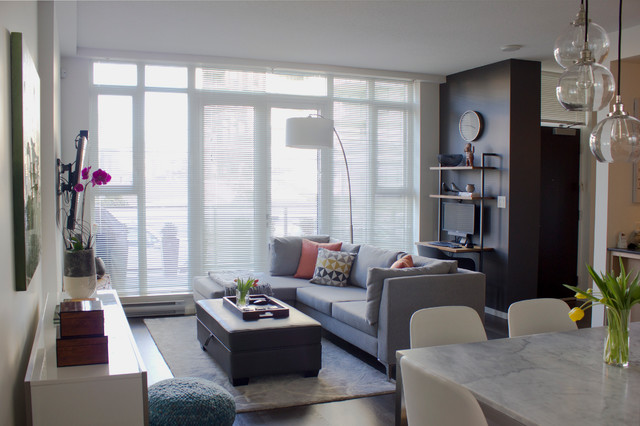 Quintet townhouse modern living room vancouver by for Modern house quintet