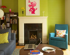 Quirky House Renovation eclectic living room