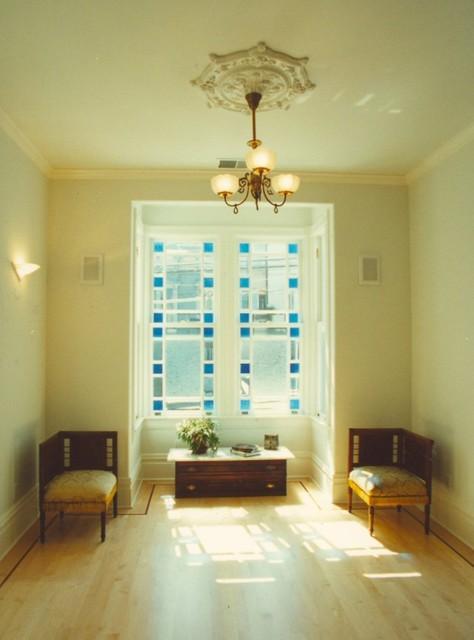 R-E-S-P-E-C-T living room traditional-living-room