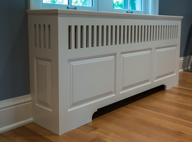 Radiator Cover - Traditional - Living Room - minneapolis - by Steven Cabinets