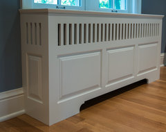 Radiator Cover traditional living room