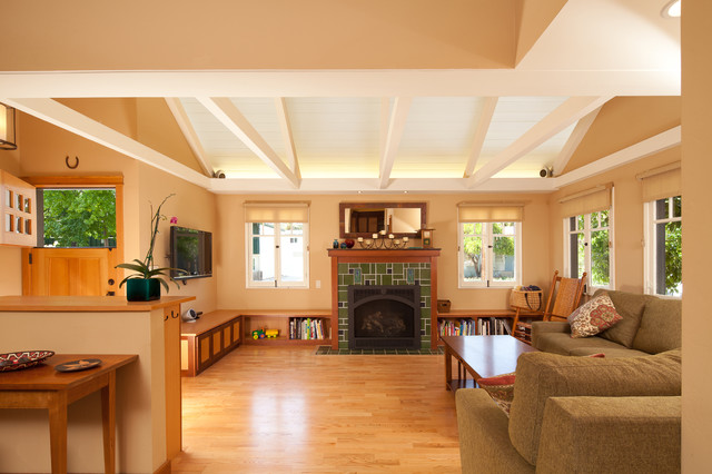 Railroad Historic District Renovation Traditional Living Room San Luis Obispo By Green Goods
