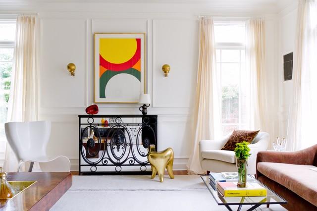 Raji RM Interiors   HH Transitional Living Room