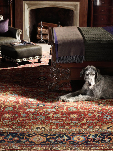 Ralph Lauren Richmond Rug Traditional Living Room