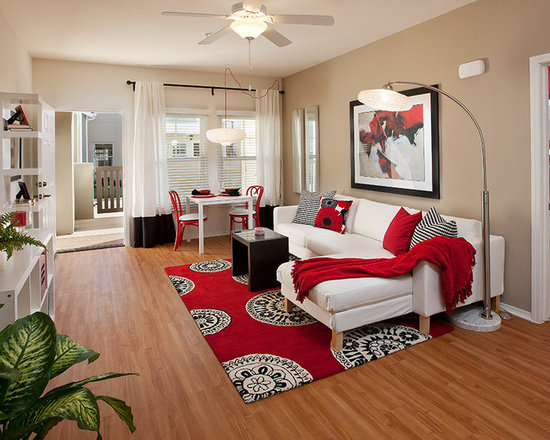 red living room decorating ideas home design ideas pictures remodel