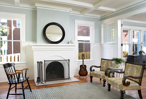 Did You Paint The Brick Fireplace What White Did You Use