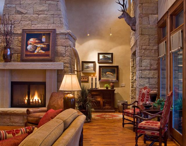 Ranch rustic-living-room