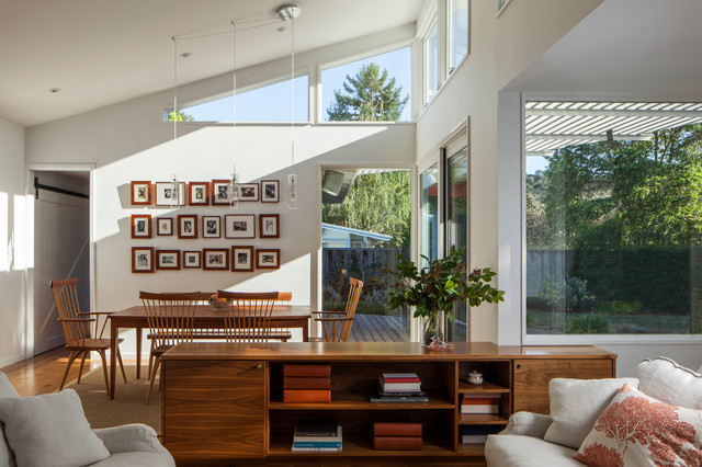 Ranch Remodel contemporary-living-room