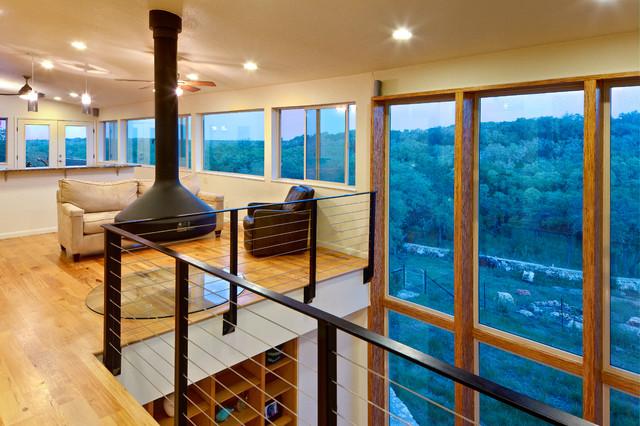 Rancho Encino Residence contemporary-living-room