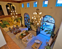 Rancho Pacifica mediterranean-living-room