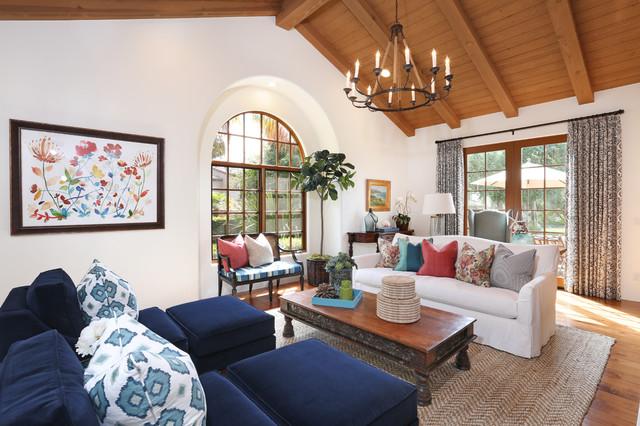 Rancho Santa Fe Mediterranean Living Room Orange County By Blackband Design
