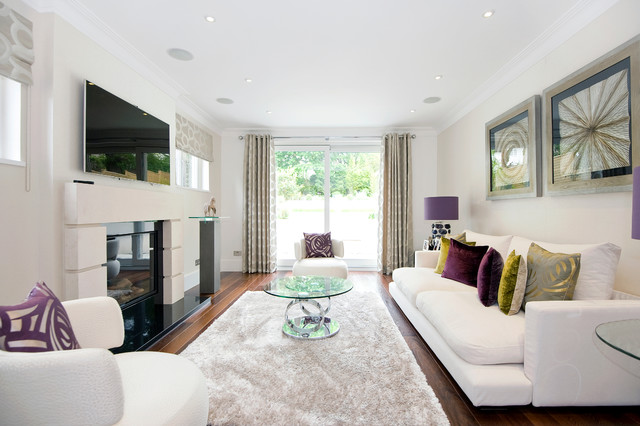 Raynes Park - Contemporary - Living Room - London - by Barnes Design