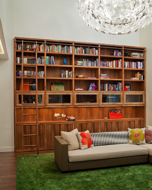 Reade Street Living Bookcase eclectic-living-room