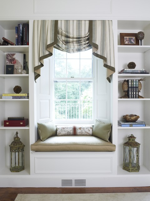 Reading Nook Traditional Living Room