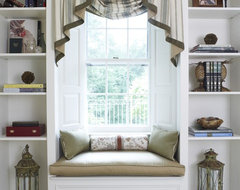 reading nook traditional-living-room