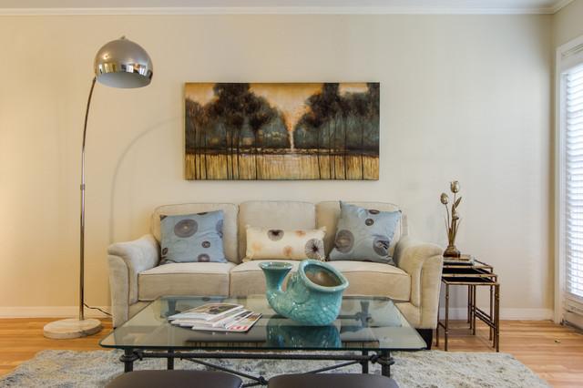 Reagan Model Home contemporary-living-room