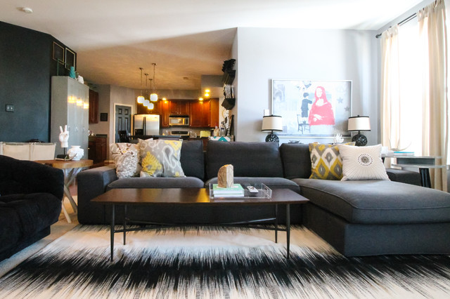 Eclectic Living Room Idea In DC Metro
