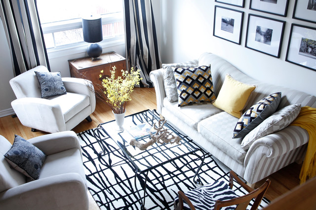 Rebecca: Montreal, QC - Traditional - Living Room - Montreal - by ...