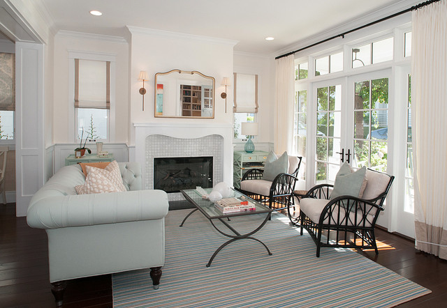 Recent Homes Built traditional-living-room