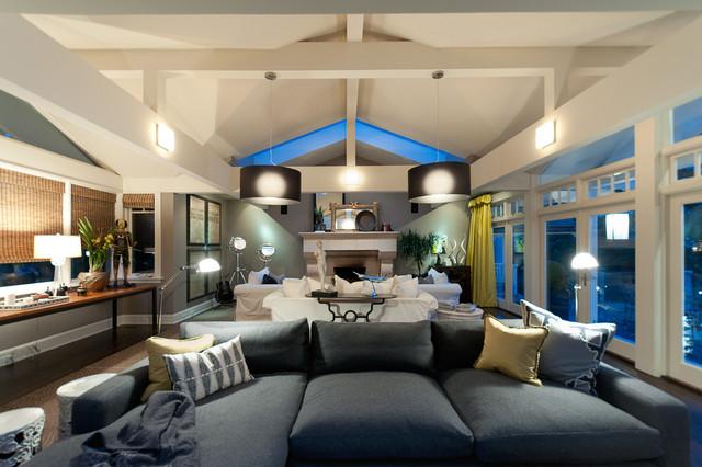 Recent Work contemporary-living-room
