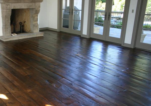 Reclaimed Antique French Oak Floors