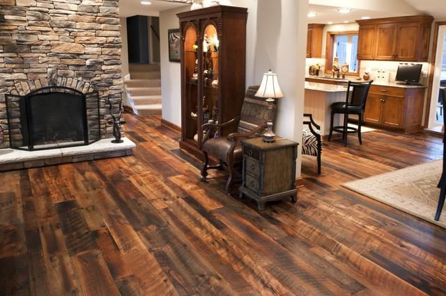 Reclaimed Antique Oak Hit Skip Hardwood Flooring ...