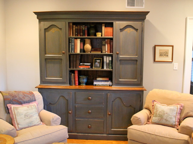 Reclaimed Wood Corner Cabinet Traditional Living Room Boston By Lakeandmountainhome