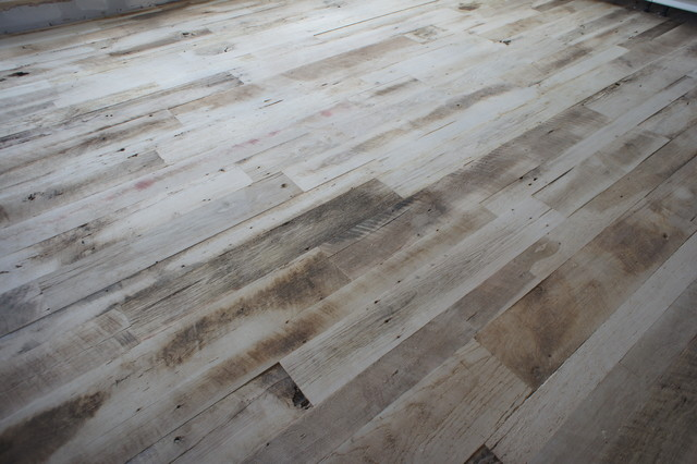 Reclaimed Wood Floor Eclectic Living Room Denver By Artistic