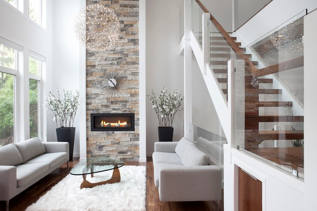 Rectangle - Contemporary - Living Room - Calgary - by rectangle ...