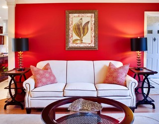 Red And Gold Living Room Part 31