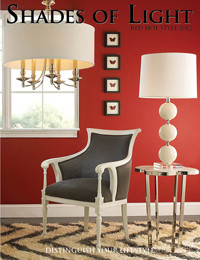 Red hot style: Sophisticated Confident and Chic eclectic-living-room