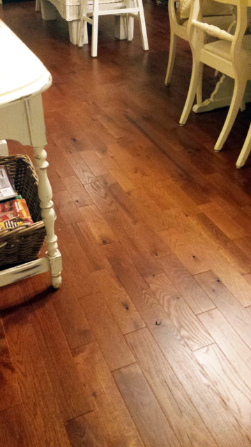 Red oak rustic grade hardwood flooring for Rustic red oak flooring