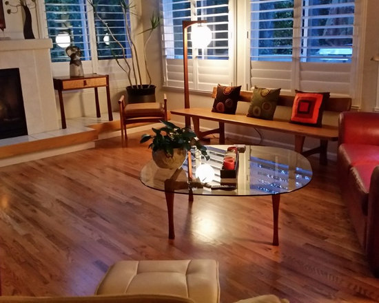 Red oak hardwood floors living room design ideas pictures for Living room ideas oak flooring