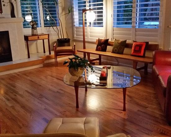 Red oak hardwood floors living room design ideas pictures for Oak living room ideas