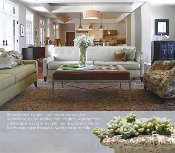 red's look book eclectic-living-room