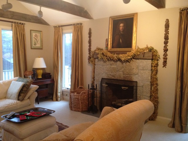 Redding, CT traditional-living-room