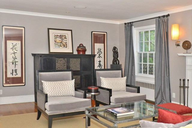 Redesign beekman rd summit nj transitional living for Living room 983