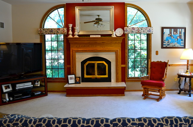 Redesign Traditional Living Room Milwaukee By
