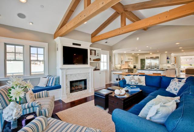 Redondo Beach ocean view house traditional-living-room